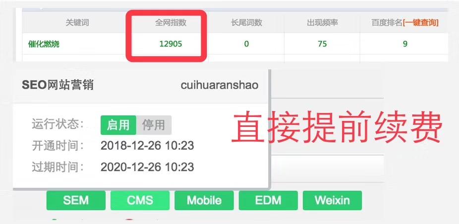 富海360推广客户独立站优化6月份最新网站优化案例展示