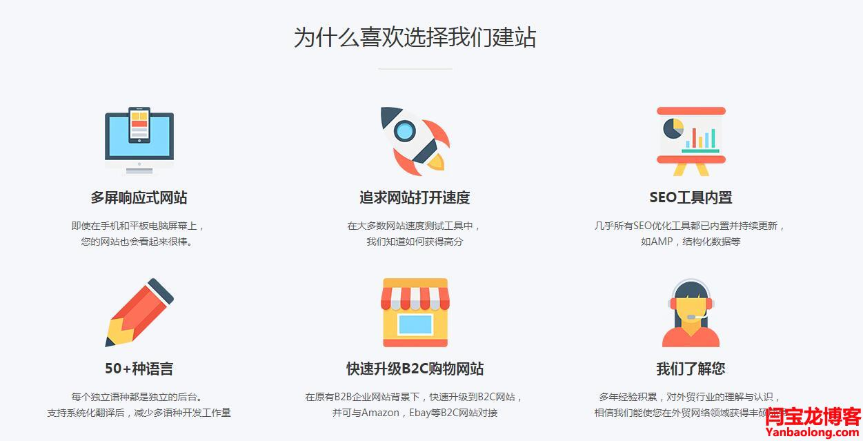 外贸网站建设