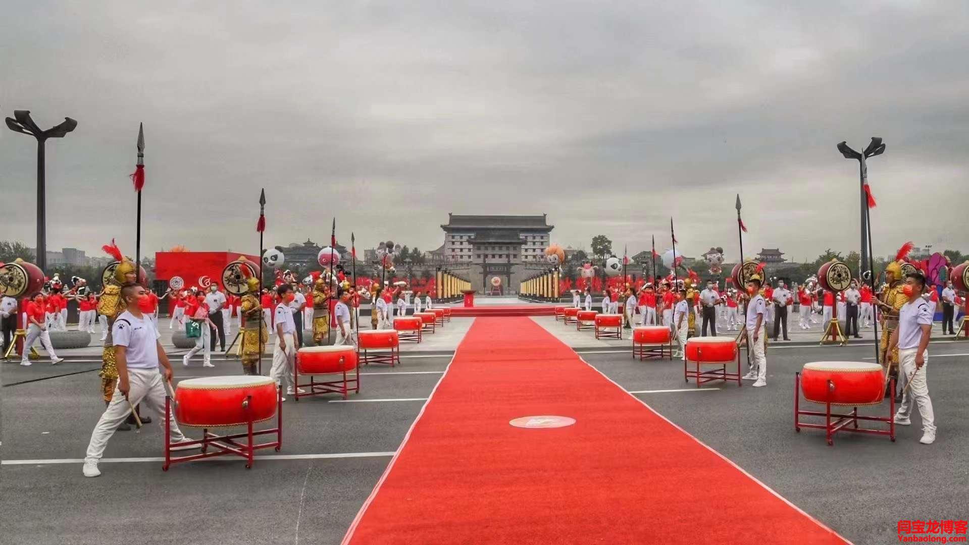 西安今日举办十四运会和残特奥会火炬传递活动